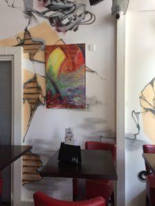 expositie cafe op 2