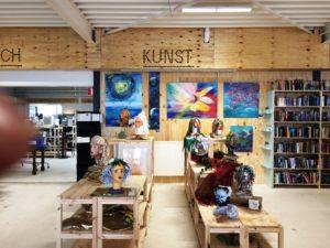 expositie in Rataplan 2 Linda Hofker
