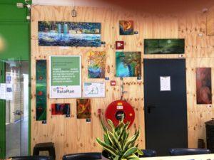 expositie in Rataplan Linda Hofker